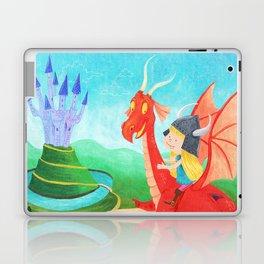 The Girl and The Dragon Laptop & iPad Skin