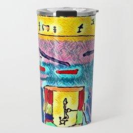 Polluted sea Travel Mug