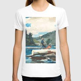 Logging on the Hudson River T-shirt