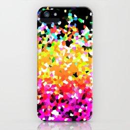 Mosaic Sparkley Texture G225 iPhone Case