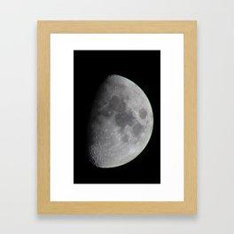 Night Moon Framed Art Print
