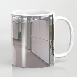 Office interior in the 80s Coffee Mug