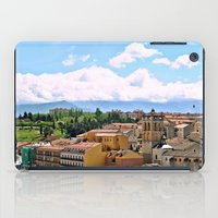 spain iPad Cases featuring Spain by Brooke Armstrong