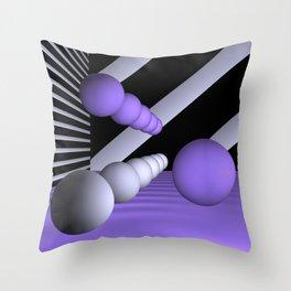 3D-geometry -8- Throw Pillow
