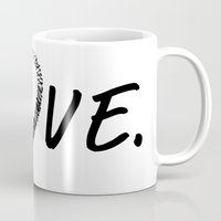 colombia Mugs featuring Love Colombia. by PeculiarPrints
