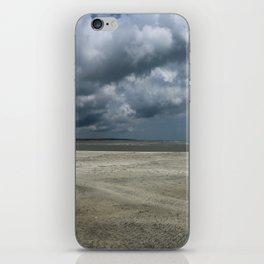 Dramatic Sky Over Golden Isles Beach iPhone Skin