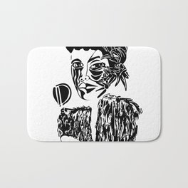 Billie Holiday Bath Mat