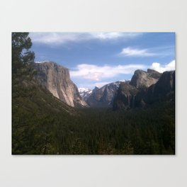 Yosemite National Park jGibney The MUSEUM Gifts Canvas Print