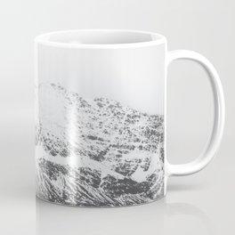 Black and White Snow-Capped Mountain Coffee Mug