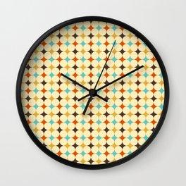 ronds de couleur 4 Wall Clock