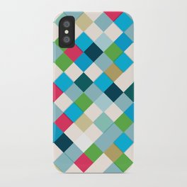 Colorful Mosaic iPhone Case