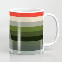 Les ligne de couleurs 01 Coffee Mug