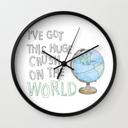 World Crush Wall Clock