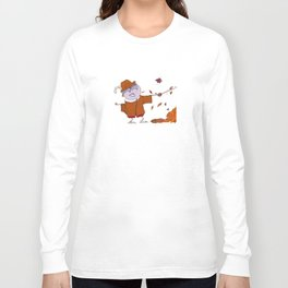 Charly fights leaves Long Sleeve T-shirt