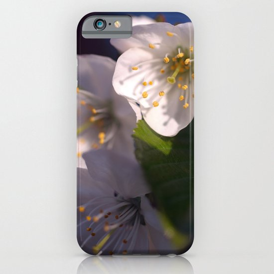White Blossom iPhone & iPod Case