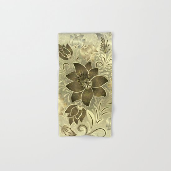 Shabby flowers #11 Hand & Bath Towel