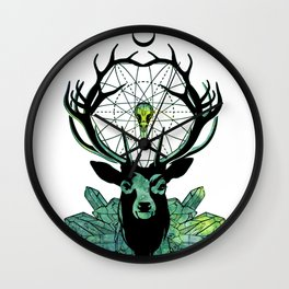 Crystal DreamCatcher Wall Clock