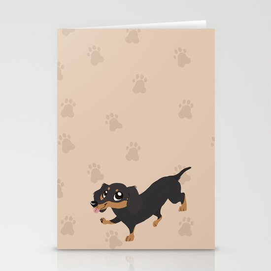 Dachshunds Stationery Cards