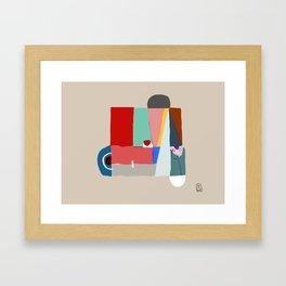 Hangar Framed Art Print