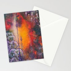 fire storm Stationery Cards