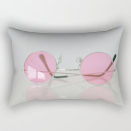 When setting up a rose-colored glasses... Rectangular Pillow