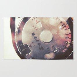 Vintage Stitz Light Meter Diptych Rug