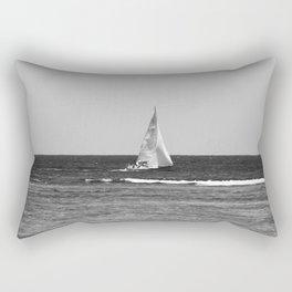 Sail Boat Rectangular Pillow
