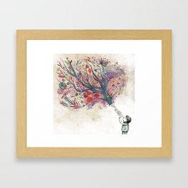 Children's dreams Framed Art Print