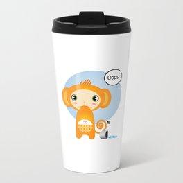 Oopsie Monkey Travel Mug