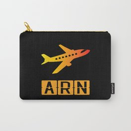 Stockholm Arlanda Airport ARN Carry-All Pouch