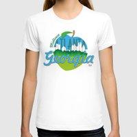 atlanta T-shirts featuring Midtown Atlanta Georgia by Niels Revers Design