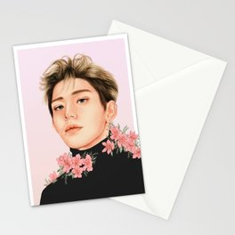 bloom [lucas nct] Stationery Cards
