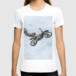 Motocross High Flying Jump T-shirt