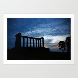 National Monument of Scotland Art Print