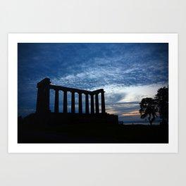 National Monument of Scotland Art Print