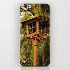Wooden Lamp iPhone & iPod Skin