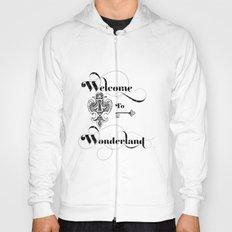 Alice In Wonderland Welcome To Wonderland Hoody