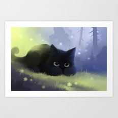 Wide Awake Art Print