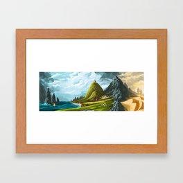 An Ancient Land Framed Art Print