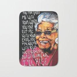 Maya Angelou Bath Mat