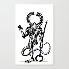 Your friend the Titanite Demon - Dark Souls Canvas Print