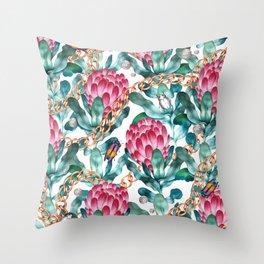 Glam Portea Throw Pillow