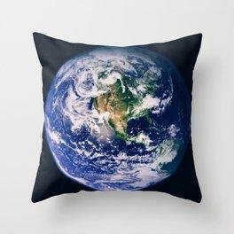 Marble 3 Throw Pillow