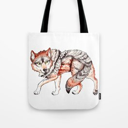 Mexican Gray Wolf - Stalk Tote Bag