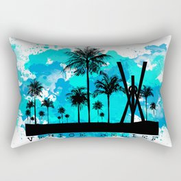Venice Green Rectangular Pillow