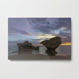 Sunset at Monforts Metal Print