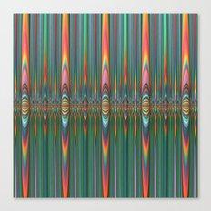 Mirrored Flames Canvas Print