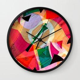 Flying Objects III Wall Clock