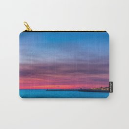 Red sunset over Porto Carry-All Pouch
