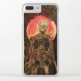 Strigoi Clear iPhone Case